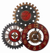 Designer 35in Metal Wall Clock  - LUT1066