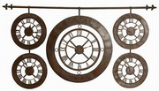 Designer Wrought Iron Wall Clock - LUT1040