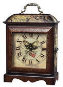 Butterfly Wooden Display Mantel Clock - MEK2020