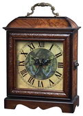 Green Butterfly Mantel Clock - MEK2022
