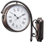 Antique Double Sided Wall Clock - MEK2060