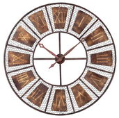 35in Outdoor Wall Clock - MEK2082