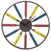 28in Pencil Wall Clock - MEK2086