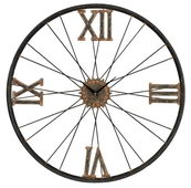 24in Iron Wall Clock - MEK2088