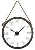 36in Metal Wall Clock Hung On Rope - MEK2114