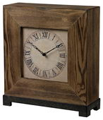 Wood Veneer Mantel Clock - MEK2118