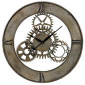 30in Industrial Cog Wall Clock - MEK2124