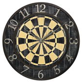 24in Dart Board Wall Clock - MEK2126