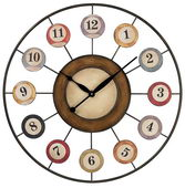 29in 8 Ball Wall Clock - MEK2128