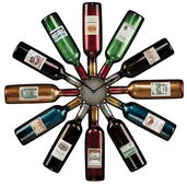 30in Wine Bottle Wall Clock - MEK2146