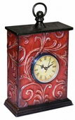 Embossed Vine Mantel Clock - MEK2148