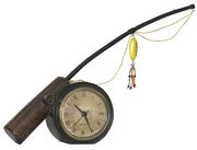Rod 'N Reed Fishing Desk Display Clock - MEK2160
