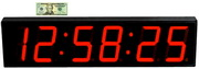 Super Large 7in Led Count Down&Up - Interval Timer&Stopwatch Remote Control Clock - NBG6330