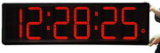 Super Long Distance 9in LED Ultra Bright Countdown Stopwatch Clock - NBG6350