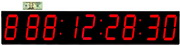Large 7in LED 1000 Day Clock Event Countdown Clock - Countup Clock & 1000 Hour Stopwatch & Wireless