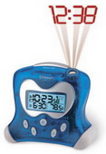Somerset Exact Set Atomic Alarm Projection Clock - WTD2080
