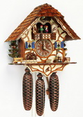 18in Moving Wood Chopper Schneider German Black Forest 8 Day Musical Cuckoo Clock - NSC3182