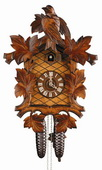 21in Birds & Leaves 8 Days Traditional German Black Forest Clock by Schneider - NSC3500