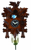 9.5in Cuckoo clock style case with moving bird Novelty Clock - NVC6407