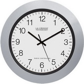 Tunbridge 10inch Atomic Analog Wall Clock - PLR6296
