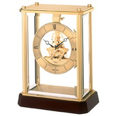 Seiko Barkley Gold Skeleton Mantel Clock - GSK4112