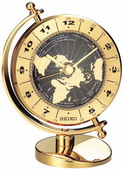 Seiko Kipler World Time Globe Desk Clock - GSK4128
