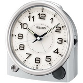 Seiko Reginald Quiet Sweep Lighted Alarm Clock - GSK4336