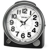 Seiko Randolf Quiet Sweep Lighted Alarm Clock - GSK4338