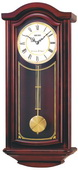 Seiko Deluxe Desmond Chiming  Mahogany Finish Pendulum Wall Clock - GSK4480
