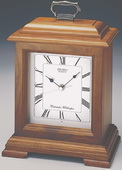 Seiko Galaxy Wooden Carriage Clock with Chime - GSK4512
