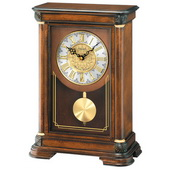 Aqua Pear Deluxe Emperor Wood Chiming Mantel Clock by Seiko - GSK4670