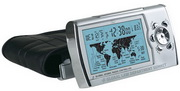 Manchester Time Zone Map Alarm Clock - RCA5052