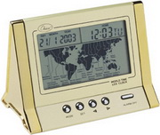 Crawley E. Lcd World Time Alarm Clock - RCA5060