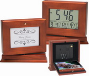 Herefordshire Lcd Desk Clock & Photo - RCA5330