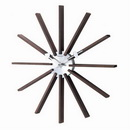 20in Square Spindle Clock - SKH3092