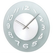 11.5in Glass Wall Clock - SKH3287
