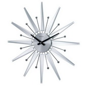 Mirrored Clock - SKH3116