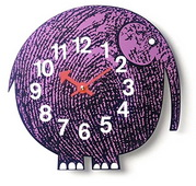 10.25in Zoo Timer Wall Clock - SKH3347
