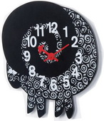 10.25in Zoo Timer Wall Clock - SKH3335