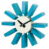 11.5in Block Clock - SKH3284
