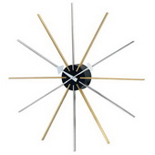 25in Asterisk Clock - SKH3044