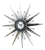 23.5in Metal Sunray Clock - SKH3080