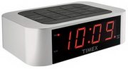 WTD1340 Simple Set Alarm Clock with LED Display Silver