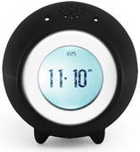 Tocky Black MP3 Voice Recording Alarm Clock - UBC6302