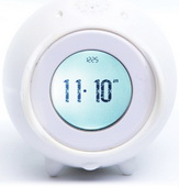 Tocky White MP3 Voice Recording Alarm Clock - UBC6304