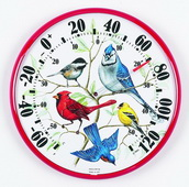Northampton Songbirds Thermometer (Indoor or Outdoor) - UCN5440