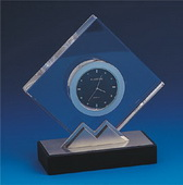 BLSN  Crystal Star Clock - YBS5314