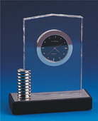 BLSN Crystal Pillar Clock - YBS5320