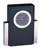 BLSN Pier Black Crystal Clock - YBS5308