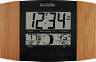 Wimborne Atomic Digital Wall & Desk Clock with Moon & IN/OUT Temp - PLR6158
